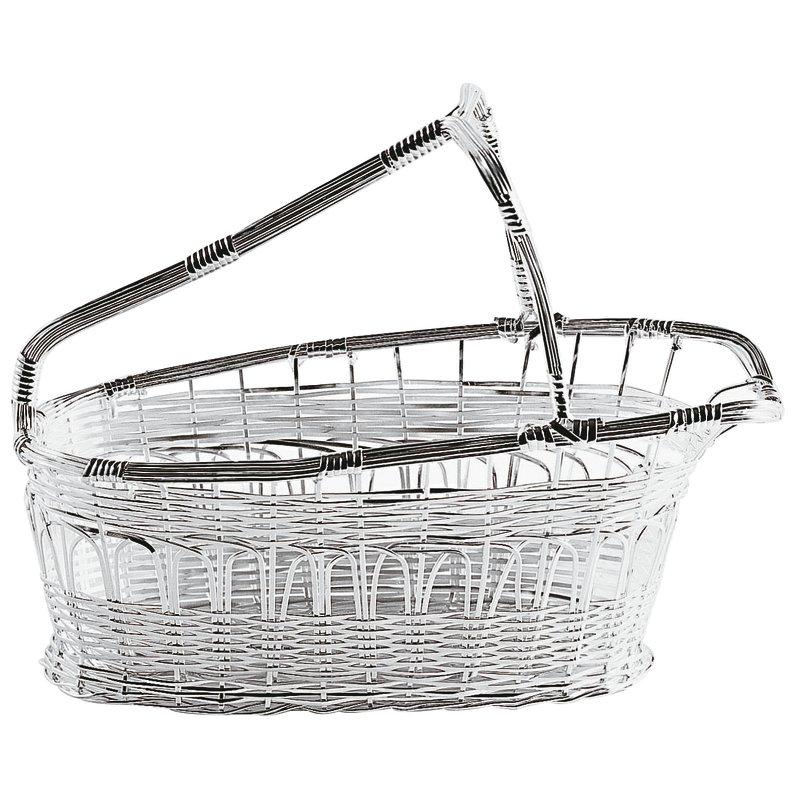 Wine basket, full bottle