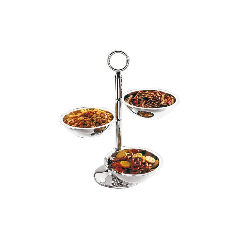 Relish dish 3 bowls