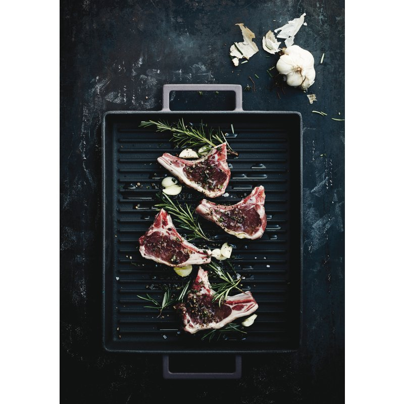 Grill pan, rectangular - TerraCotto