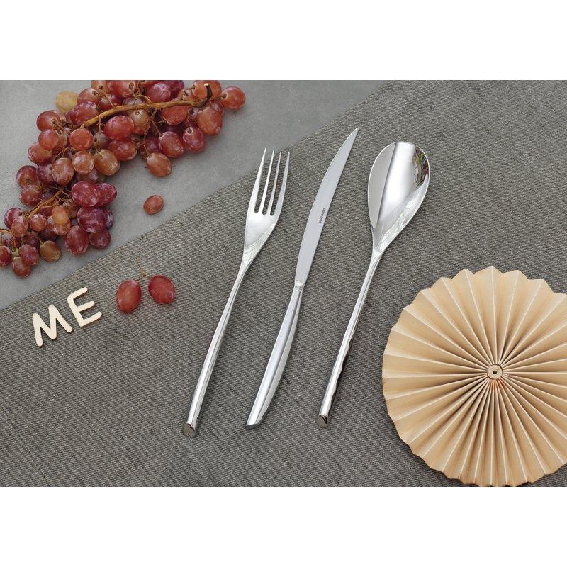 Coltello tavola, monoblocco - Bamboo