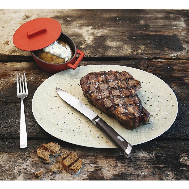 Coltello bistecca, lama liscia - T-Bone