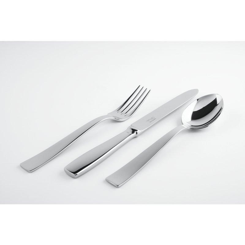 Coltello tavola, manico cavo orfèvre - Gio Ponti