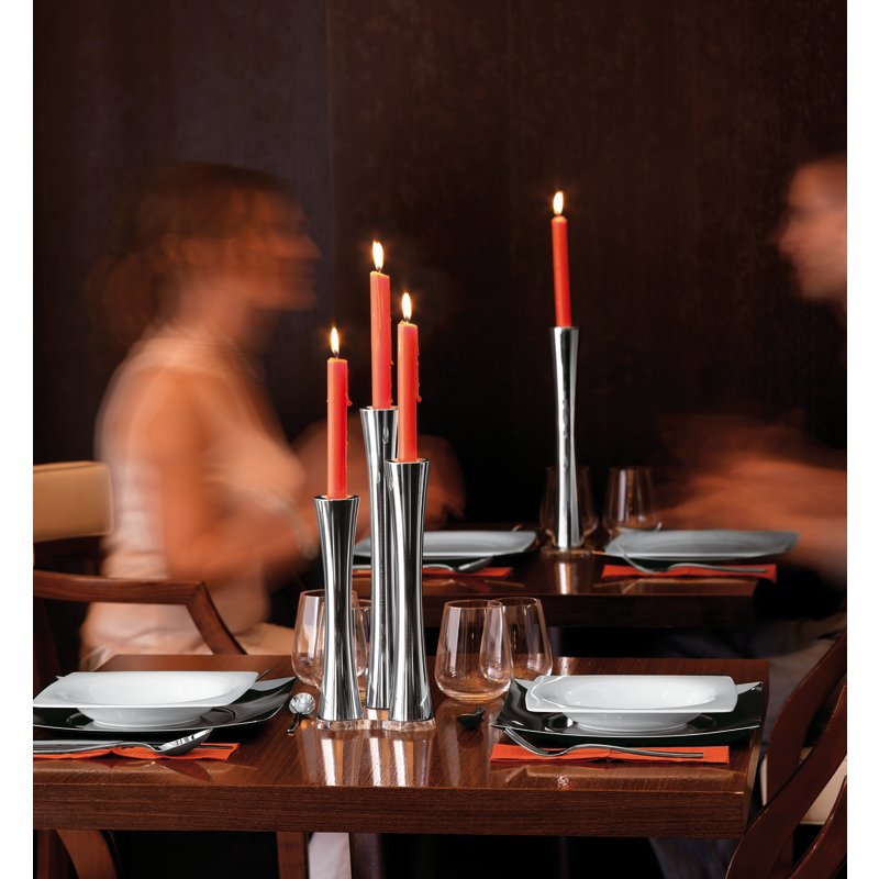 Candlestick base 4 lights - Bamboo