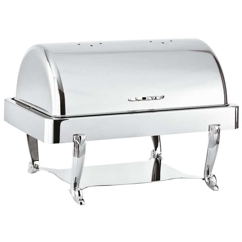 Chafing dish rectangular solid alcohol heating - Asia