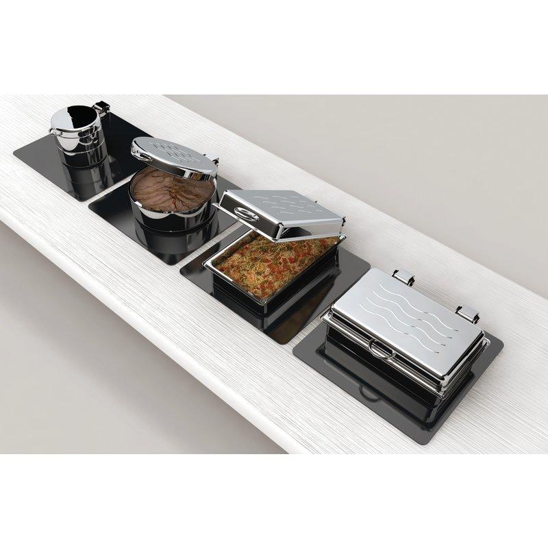 Chafing dish rectangular - Atlantic Buffet System