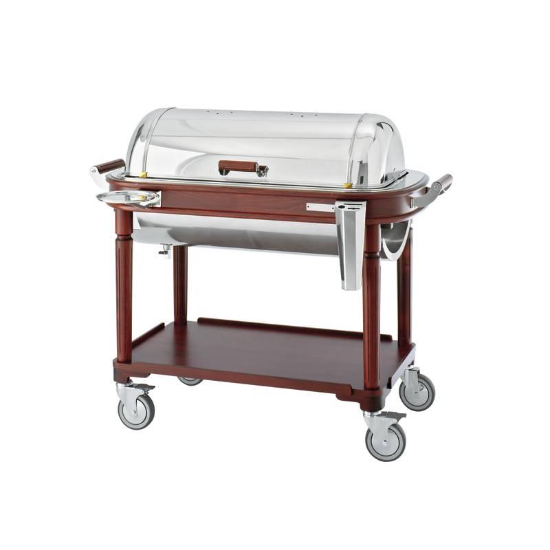 Roast beef/stew trolley, electric - Versailles