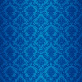 Damascato blu